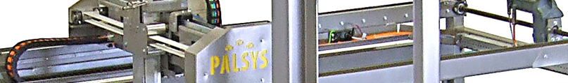 Palsys - palletisers, case packers and transport systems